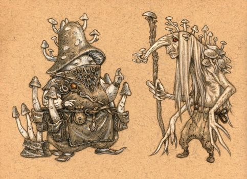 Mushroom wizards 2 by eoghankerrigan