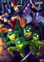 TMNT Kryptonite Toys Competition Entry by amorias