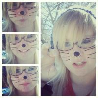 I turned into a cat for a  day by rememberlovekimx
