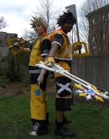 Master Form Sora and Roxas by R-Legend