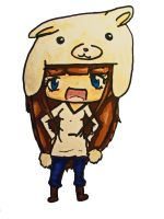Chibi Pokemon9poke With Alpaca Hat by pokemon9poke