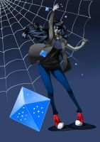 Vriska: Roll. by Wa-me