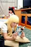 Leisure time at Marisa's house by Hitomi-Cosplay