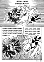 Ash VS Serena Page 4. by Rohanite
