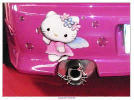 Hello Kitty Exhaust by Whatsername90