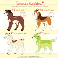 Set 1 Dessert Adopts: $5 by romances