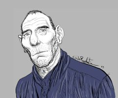Pete Postlethwaite by SugaryAshes