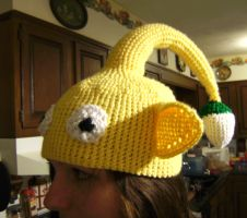 Yellow Pikmin Hat 2 by MaculaMaster734