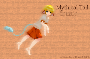 MMD Mythical Tail by MMDFakewings18
