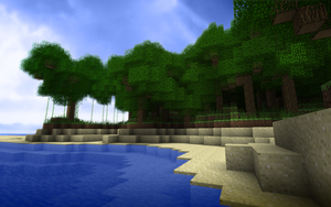 Minecraft Scenery by TheNose90