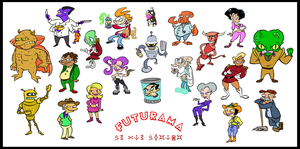 Futurama stylized 3 by Brah-J