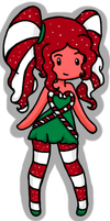 CandyCane Princess Animated Adoptable by Queen-Of-Cute