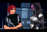 Mass Effect Cartoon Mock-Up 4 by Garrenh