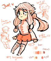 jun!!! ref sheet by bnha