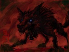 Wolf at Day by cruzarte