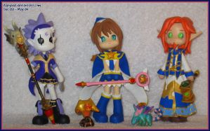 Pinky St. Custom:  First Trio by Asphydel