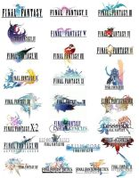 Final Fantasy Logo Compilation by hajpero