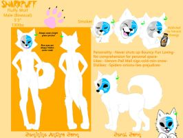 Snarkpuff Reference Sheet by Snarkpuff