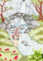 Magical Spring - Contest Entry by GothX2410