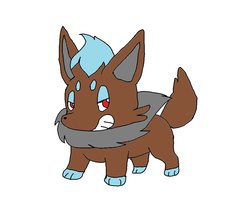 PMD: Xavier the Shiny Zorua by XfangheartX
