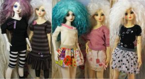 Lagoon Outfits by batchix