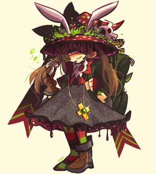 Mushroom Witch by Andgofortheroll-123