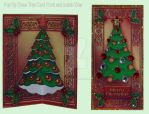 Xmas Pop up Tree Card by blackrose1959