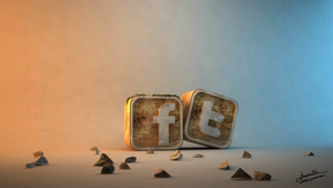 Social sites icons by 1995levente