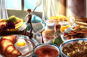 Project Gift: Gift of Breakfast by Chiyenn