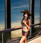 Tifa Lockhart Cowgirl ff7 by jules2626