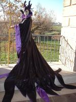 Maleficent at the sunset by Giorgiacosplay