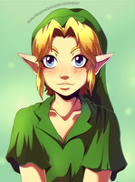 Gentle boy by Queen-Zelda