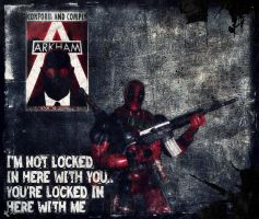 Deadpool Vs. Arkham City by PsychosisEvermore