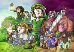 Legend Of Zelda: A Link To The Past by stayte-of-the-art