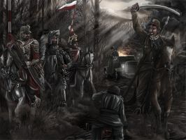 Polish Cavalry by propagangjah