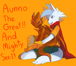 AUNNO THE GREAT by orangepotion