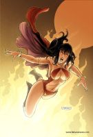 Vampirella 27 Cover colors by FabianoNeves