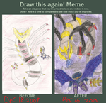 Before N After Meme Giratina vs Meta Knight by kingofthedededes73