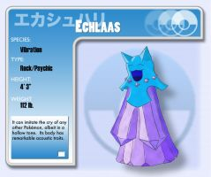 Fakemon - Echlaas by ChildwithHeadphones