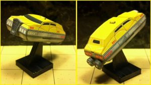The Fifth Element - Corbin Dallas Cab by Dented-Rick
