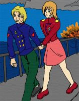 Elisa and Lou _Contest_ by AniMaArtist