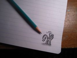 MLP- Mini Cheerilee by BrittanyAnnxOx