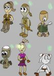 19 major character by chaoartwork39