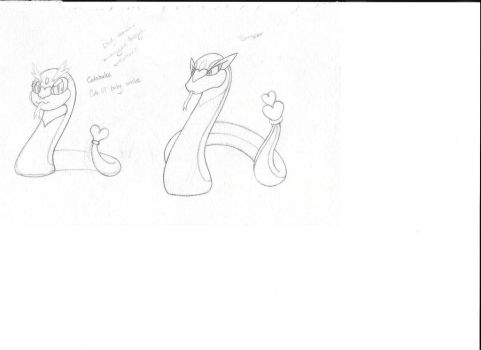 Fakemon Fire Starter. by SongofVictory