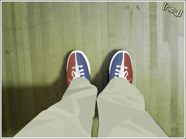 Bowling shoes. by Neg-319