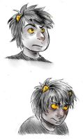 karkat makes faces by invertings
