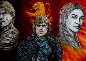 Lannister Hear me roar! by FDupain