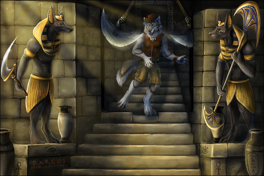 Danger in the Pyramind by Sidonie