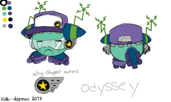 odyssey (now in color!!) by Lilith--Daemon