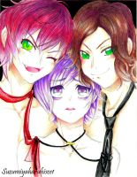 DiaLovers Triplets by suzumiyaharuhisos1